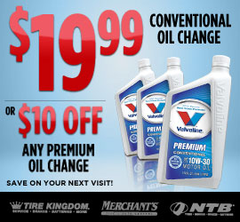 Tire Kingdom Oil Change >> Conventional Oil Change Tire Rotation Or 10 Off Premium Oil