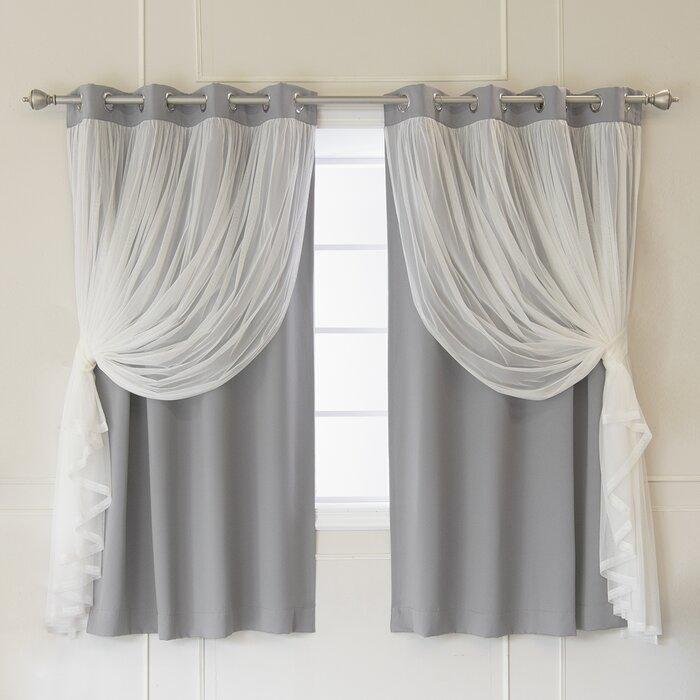 Rosdorf Park Brockham Thermal Grommet Curtain Panels & Reviews | Wayfair