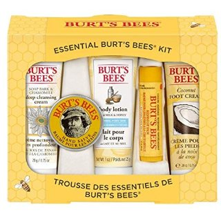 Burt's Bees/小蜜蜂手足唇护理5件套装原价10,36欧 他家东西小折万年推 万千妈咪的首选!