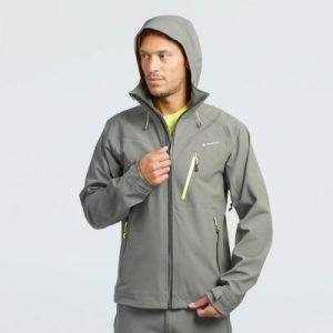 Quechau 冲锋衣/雨衣 灰色 原价69.99欧 5.8折 现价39.99欧