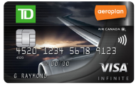 TD First Class Travel Visa Infinite* Card