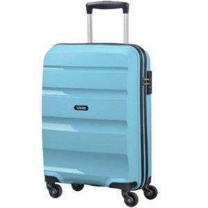 寻找一个坚韧而时髦的行李箱?新秀丽旗下American Tourister 美旅 蓝色Bon Air 55cm, 31.5 L登机箱 原价119.95欧 折后仅售60.67欧!