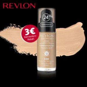 REVLON Colorstay 24小时不脱色粉底液原价14.99欧,折后11.99欧