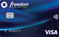 Chase Freedom Unlimited?