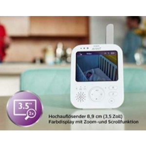 仅今天!飞利浦无线婴儿监视器Philips Avent SCD843/26 , 原价219.99欧 折合仅售144.99欧!