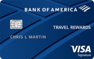Bank of America? Travel Rewards Visa? credit card