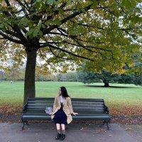 琪琪子在英国
