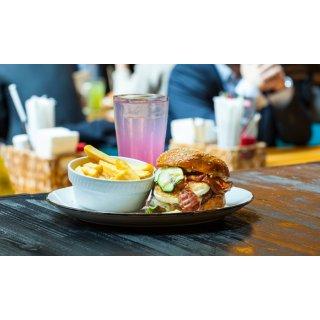 【法兰专场】Die Kuh die lacht 推出汉堡套餐,双人团购价仅19.9欧,相当于不到6折呀