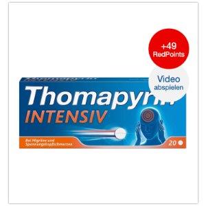 最好用的头痛药thomapyrin加强版6折啦