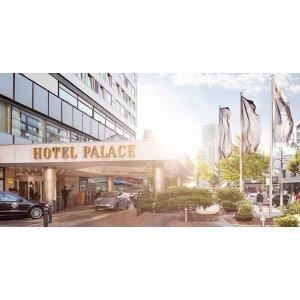 柏林5星酒店Hotel Palace柏林皇宫饭店3天2晚双人间+自助早餐+泳池+健身房 每人只要109欧起!