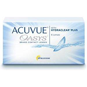 干眼症人也可以戴的Acuvue Moist 安视优舒日散光日拋隐形眼镜 /2周抛日夜戴,折上8折仅17.59欧