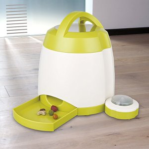 培养聪明的毛孩子Trixie Dog Activity 狗狗记忆训练器 互动自主喂食器,原价64.99欧,折后39.99欧。