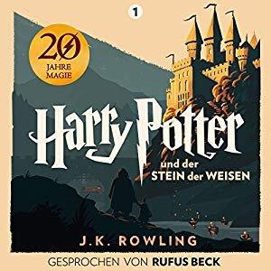 免费听,有kindle的免费读哈利·波特与魔法石 Harry Potter und der Stein der Weisen 有声图书(德语)