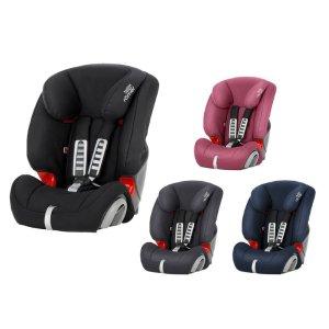 甜馨同款!Britax家Römer Autositz EVOLVA 123款儿童安全座椅(9个月-12岁)红色,原价149.9欧,折后只要99.99欧!更好地保护宝宝的安全!