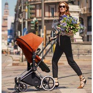 儿童安全出行专家CYBEX 赛百斯 童车、安全座椅、婴儿提篮、配件等全场5折起