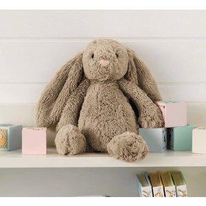 """史低8.5折圣诞好礼物:""""世界上最柔软的玩具兔子""""Jellycat 毛绒玩具到手就放不下了"""
