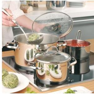 WMF Provence Plus 四件套锅原价179欧,折后仅售64.99欧  包括4个炖煮锅配4个锅盖