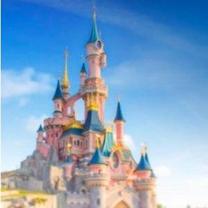 比单买两日票还便宜巴黎迪士尼乐园两日门票+两晚四星酒店住宿 低至159欧