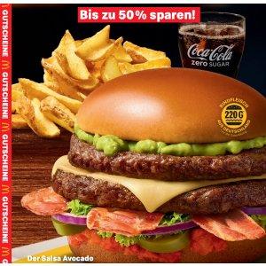 下载打印即可使用麦当劳最新优惠券来了! 有效期到2月2日