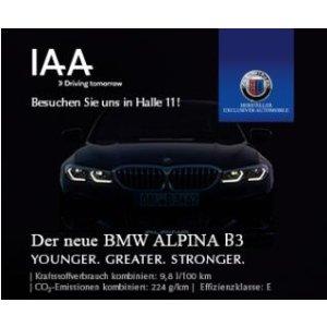 不可错过的法兰克福 IAA 车展周末天票15欧