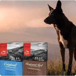 新用户9折Orijen 渴望顶级狗粮、猫粮德国也可以买咯!