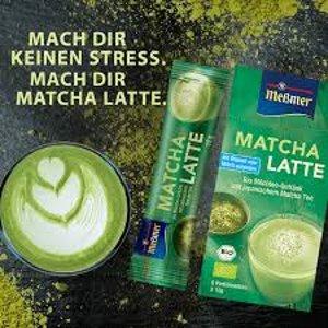 浓浓抹茶奶香德国人终于开窍了!开始卖抹茶味的奶茶了!
