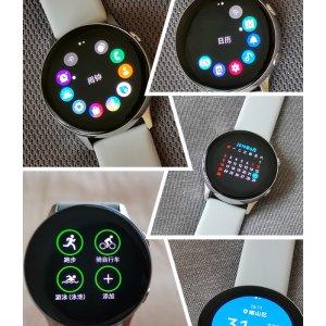 Samsung Galaxy Watch Active 玫瑰金色智能腕表今日闪购特价 折后仅售149欧 原价249欧