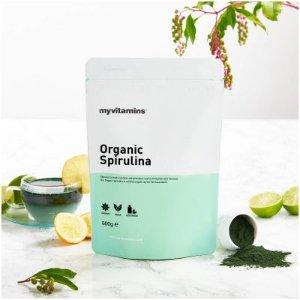 微博转发送好礼Myvitamins Organic Spirulina 有机螺旋藻粉热卖中