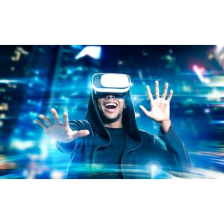 VR玩家赶紧看过来啦~没有设备也能体验VR!VR的游戏体验你值得拥有,一个小时的VR体验团购价仅19.9欧~