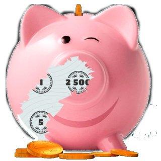 有小伙伴中了1000欧25次小猪刮刮乐只要0.99欧 最高金额可达2500欧