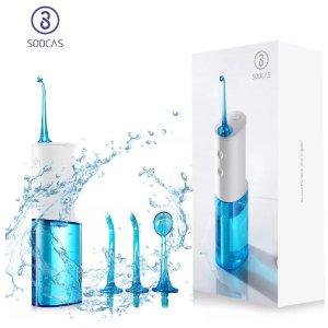 小米 SOOCAS 素士 W3 便携式冲牙器 液体牙线 原价59.99美金,折后39.99美金,约合31欧(含视频)