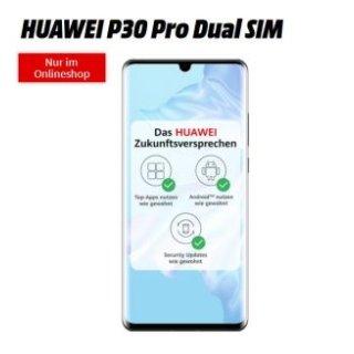 超值华为p30 pro手机合同,10GB包月网络,两年下来一共缴纳736.75欧,目前p30 pro市场售价699欧!!相当于两年话费才37.75欧!