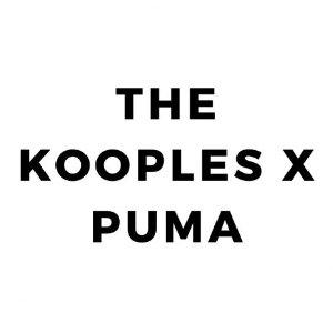 THE KOOPLES与PUMA再度联手推出联名系列 现在德国可以买了