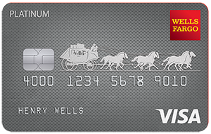 Low intro APR for 18 months from account opening on purchases and qualifying balance transfersWells Fargo Platinum card