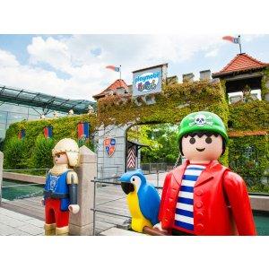 快带孩子来一场亲子之旅吧Playmobil FunPark游乐园天票+4星酒店一晚住宿含早餐 低至49欧每人