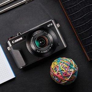 史低价:想做博主?就收这个佳能 PowerShot G7 X Mark II 数码相机 网红博主必备神器