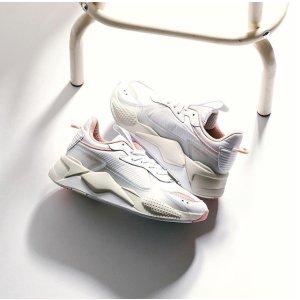 七夕独家!Puma官网3折起+折上8折!Puma RS-X Tech 老爹鞋,折后61.6欧,原价110欧! 鞋王归来!复古的冰淇淋配色,也太好看了吧
