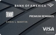 Bank of America? Premium Rewards? Visa? credit card