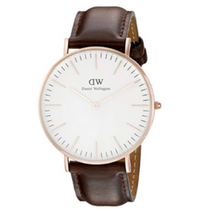 Daniel Wellington男士石英手表,限时特价55欧!超划算哦!