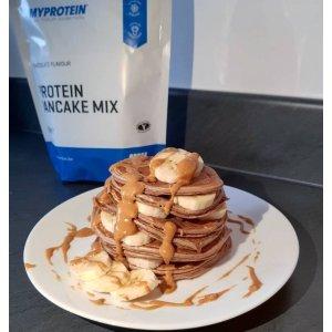 现价€2.46 美好的一天从早餐开始Myprotein全场5.7折 Protein Pancake Mix美式蛋白煎饼粉热卖中