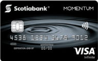 Scotia Momentum® Visa Infinite* card