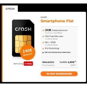 100分钟电话,2GB上网月租只要4.99欧