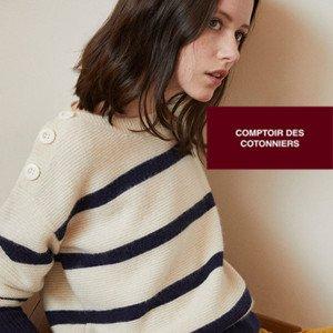 巴黎春天百货年终清货法国版MUJI 的 Comptoir des Cotonniers 5折起