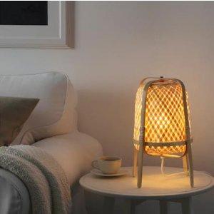 IKEA超值折扣!IKEA KNIXHULT 小灯,折后仅24.99欧,原价29.99欧!家就该这样宁静别致,夜晚降临,也别散场~~