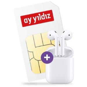 同时返利送50欧包月4.5GB上网、电话 月租14.99欧,0欧购机费得到 Apple Airpods 2代降噪无线耳机