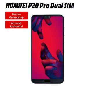 一次性购机费79欧送华为HUAWEI P20 Pro包月2GB上网+短信+电话 月租11.99欧 一个比直接买裸机还划算的合同