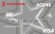 Scotiabank SCENE® VISA card