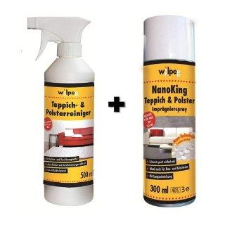 德亚折扣#WILPEG室内清洁剂套装 – 浸渍剂+清洁剂 折后价仅17,99欧!