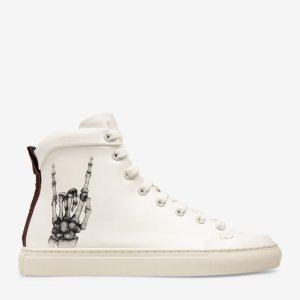 Bally 女士HERCULES X FUNK 骷髅手运动鞋