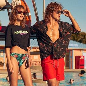 $4.99 起H&M 精选男士沙滩裤热卖